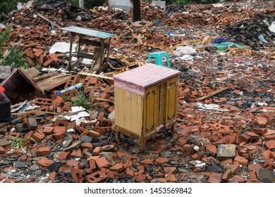 Abandoned Furniture and Abandoned Village
