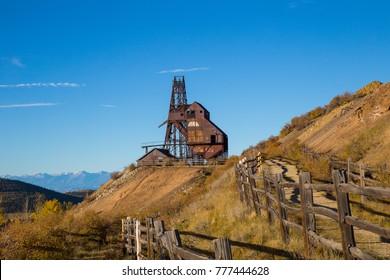 Abandoned Gold Mine near Victor, Colorado