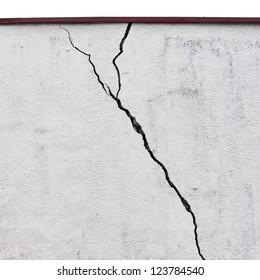 abandoned grunge cracked  stucco wall background