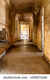 Abandoned hospital facility on Angel Island in San Francisco Bay