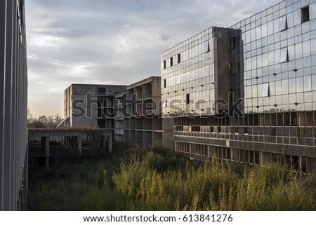 fbc5bcacdc9123 Abandoned Hospital Zagreb Croatia Stock Photo (Edit Now) 613841276 ...