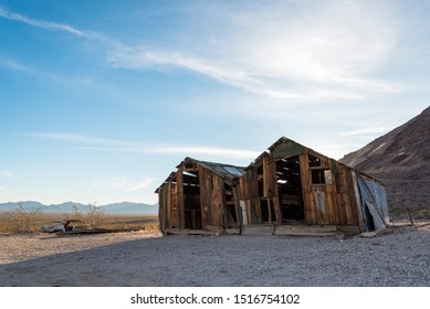 Abandoned House in the Ghost Town Rhyolite near Death Valley 01