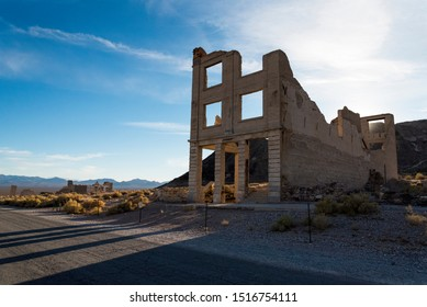 Abandoned House in the Ghost Town Rhyolite near Death Valley 03