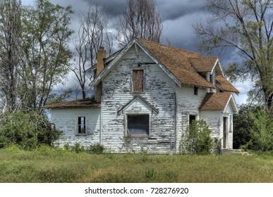 Abandoned house, Idaho Falls