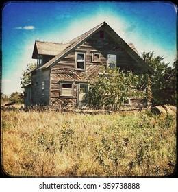 Abandoned house in Kansas