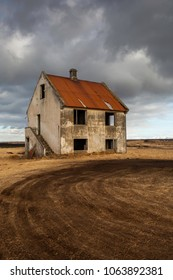 Abandoned House on the Reykjanes Peninsula in Iceland