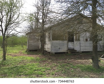 Abandoned house texas