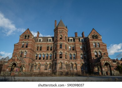 Abandoned Hudson State Psychiatric Hospital in New York