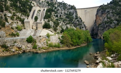 abandoned hydropower plant in Turkey, Green Canyon, Manavgat