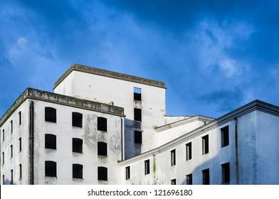 Abandoned italian factory