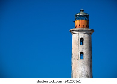 Abandoned lighthouse at Klein Cura�§ao