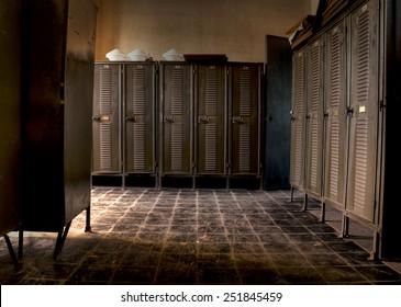 Abandoned lockers 1