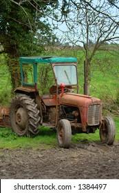 Abandoned Massey Ferguson Tractor