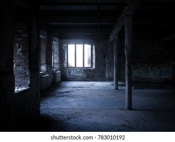Abandoned mental asylum in Denbigh, Wales