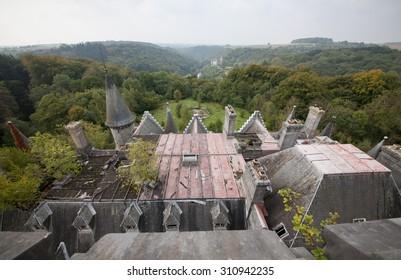 Abandoned Miranda castle - Chateau Noisy, Belgium