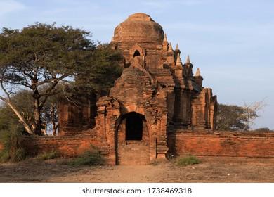 Abandoned Pagoda in Bagan Myanmar