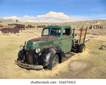 Abandoned Pickup of the ghost town Bodie.