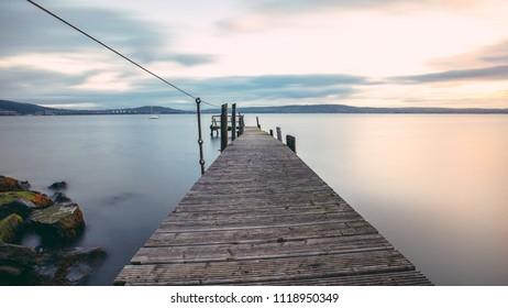 Abandoned pier long exposure, Holywood, Northern Ireland
