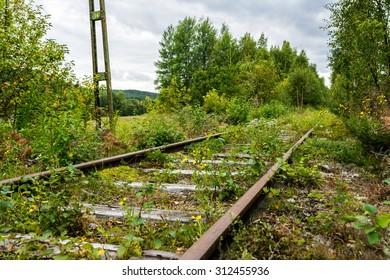 Abandoned railway / old railway.