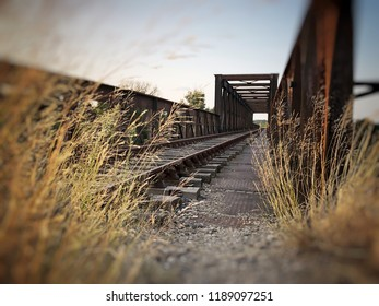 Abandoned railway in the South of France, Salleles d'Aude