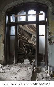 abandoned room