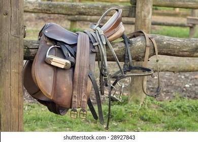 abandoned saddle