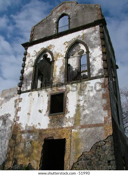 Abandoned scary house