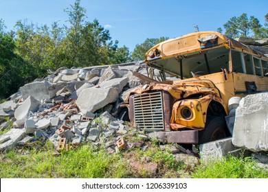 0a69ab4d31e5f1 abandoned bus Images