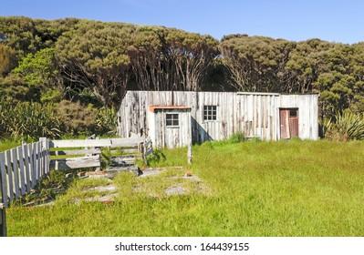 Abandoned Settlement on Stewart Island in New Zealand