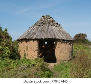 Abandoned Shepherd's Hut near Instow on the South West Coast Path in Rural Devon, England, UK