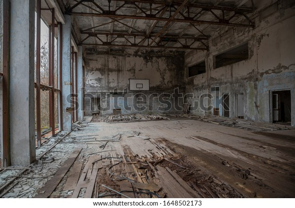 abandoned-sports-hall-chernobyl-nuclear-