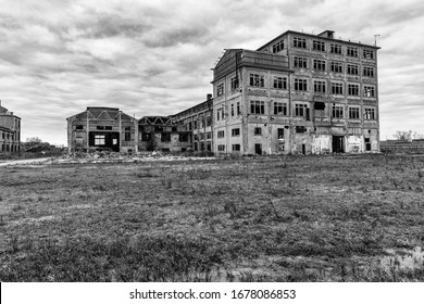 An abandoned sugar mill somewhere in Italy