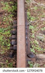 Abandoned train track