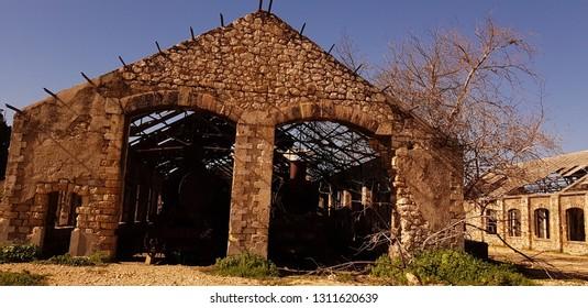 abandoned trainstation in tripoli