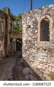 Abandoned village Kalami