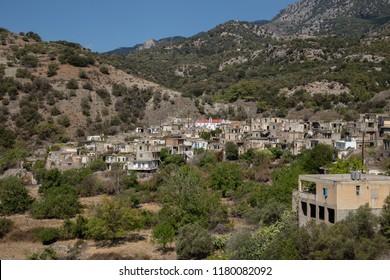 Abandoned village Kalami - Crete