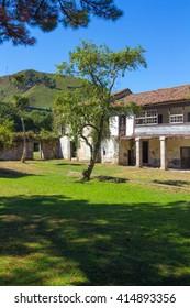 Abandoned village (San Antolin Bedon) Spain