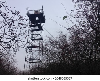 Abandoned watch tower