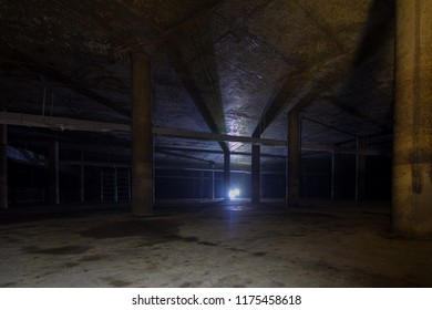 Abandoned water reservoir