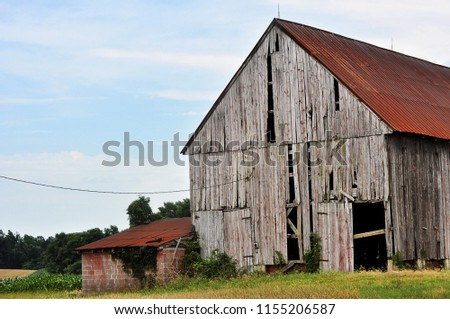 abandoned weathered barn stock photo edit now 1155206587