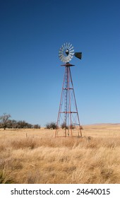 Abandoned windmill, Clarkdale, New Mexico