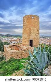 Abandoned Windmill in Felanitx (Majorca - Spain)