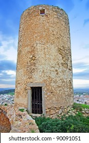 Abandoned Windmill in Felanitx (Majorca - Spain)