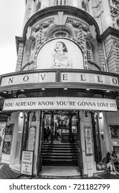 The ABBA Musical Mamma Mia at the Novello Theatre in London - LONDON / ENGLAND - SEPTEMBER 19, 2016