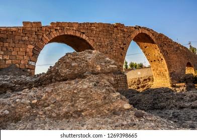 Abbasi bridge, (Pira Delal (Dalal Bridge)) Zakho in northern Iraq