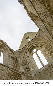 Abbaye des Chateliers, Abbey of the Châteliers, old ruined monastery on a French island of Il de Re