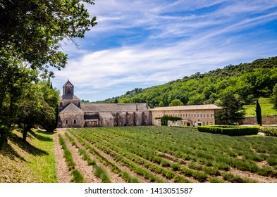 Abbaye Notre Dame de Senanque, monastery in the Provence region of Southern France