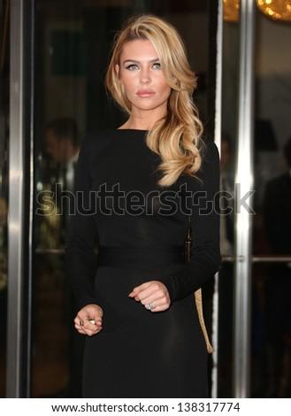 Abbey Clancy Ledley King Testimonial Gala Stock Photo Edit Now