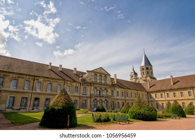 The Abbey of Cluny in the Burgundy in France was a seat of religious power in medieval times.