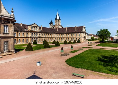 Abbey of Cluny, in Saône-et-Loire, founded in September 909 by the duke of Aquitaine and count d' Auvergne Guillaume Ist. FRANCE - April 21st, 2018